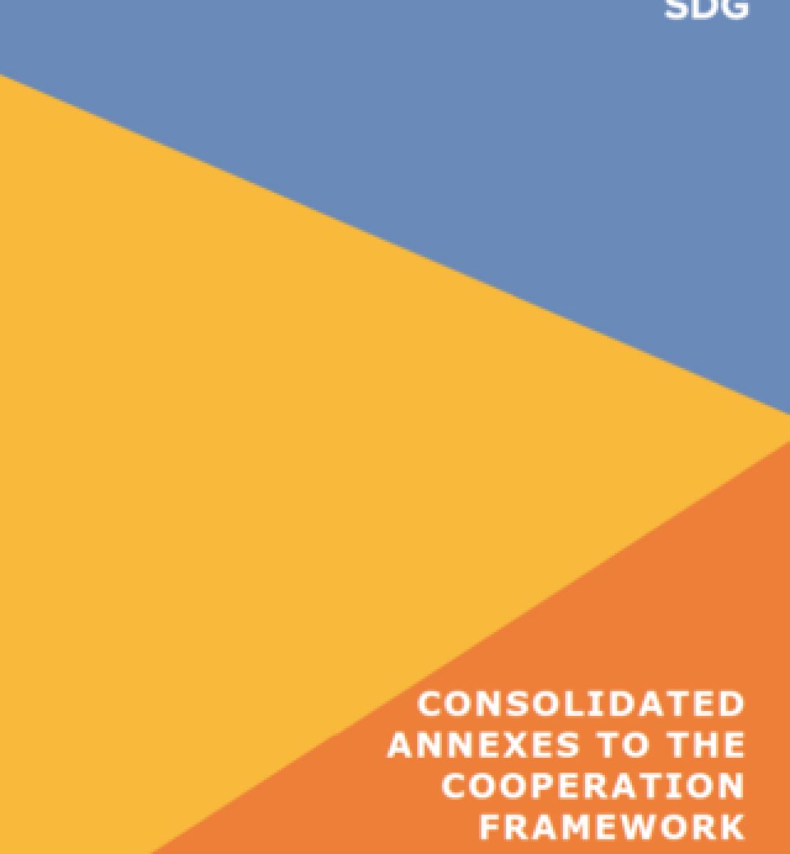 Cover to the Consolidated Annexes to the CF Guidance