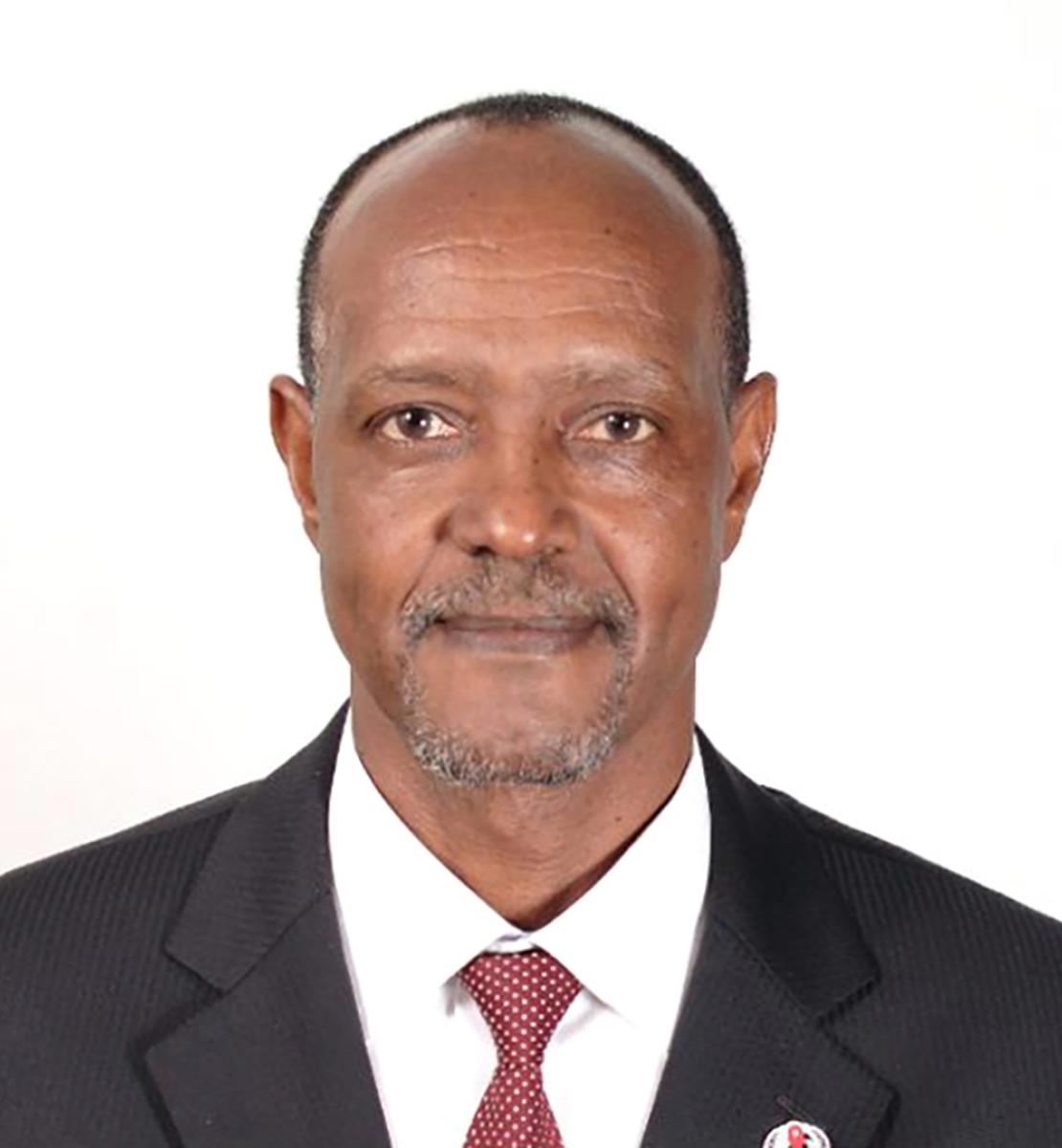 Official photo of the new appointed Resident Coordinator for Benin, Salvator Niyonzima.