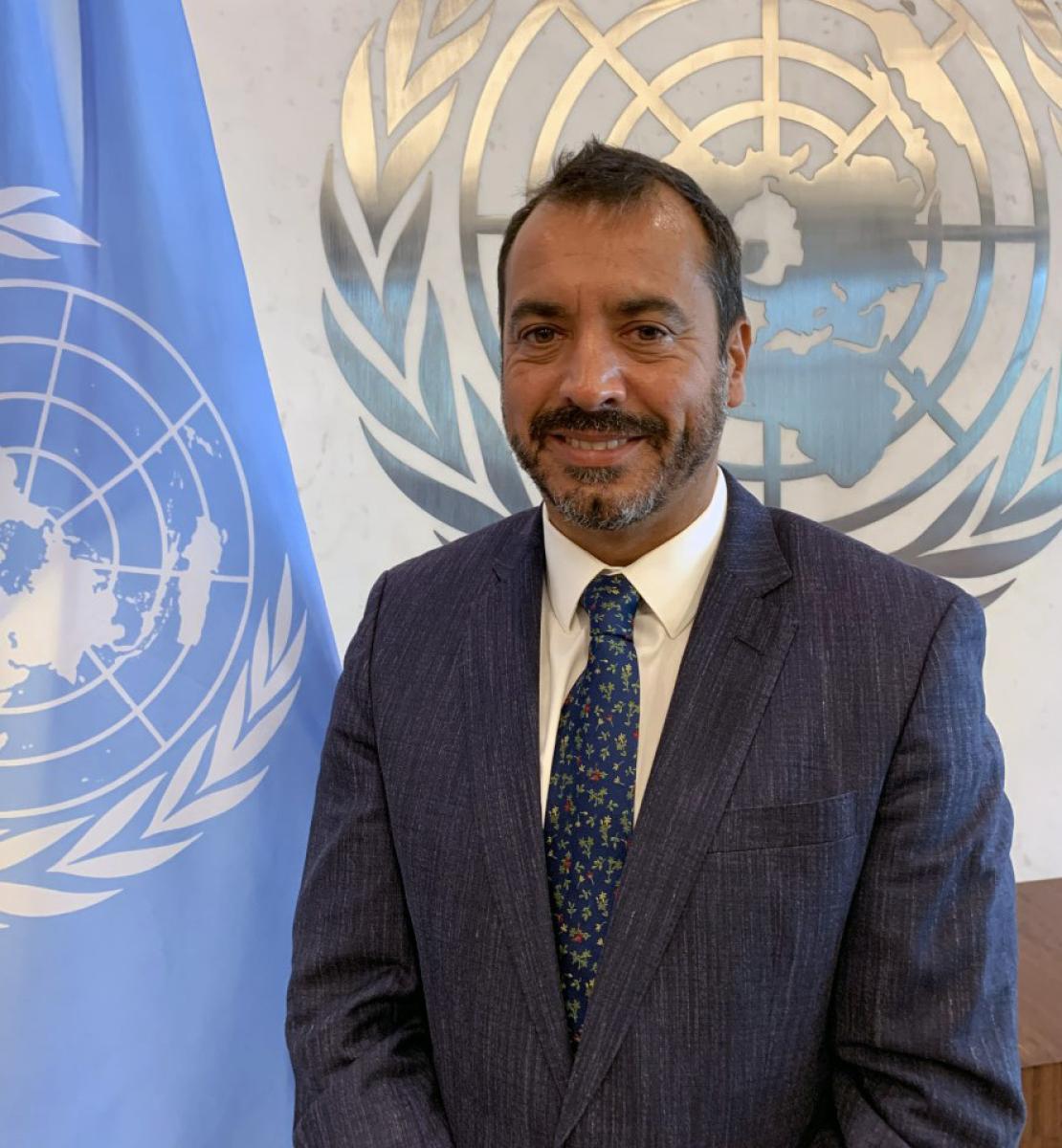 Photo officielle du nouveau Coordonnateur résident des Nations Unies en Algérie, Alejandro Alvarez.