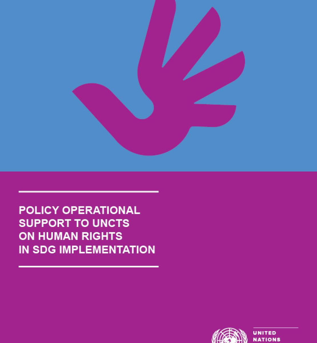 Policy and Operational Support for UNCTs on Human Rights in SDG Implementation