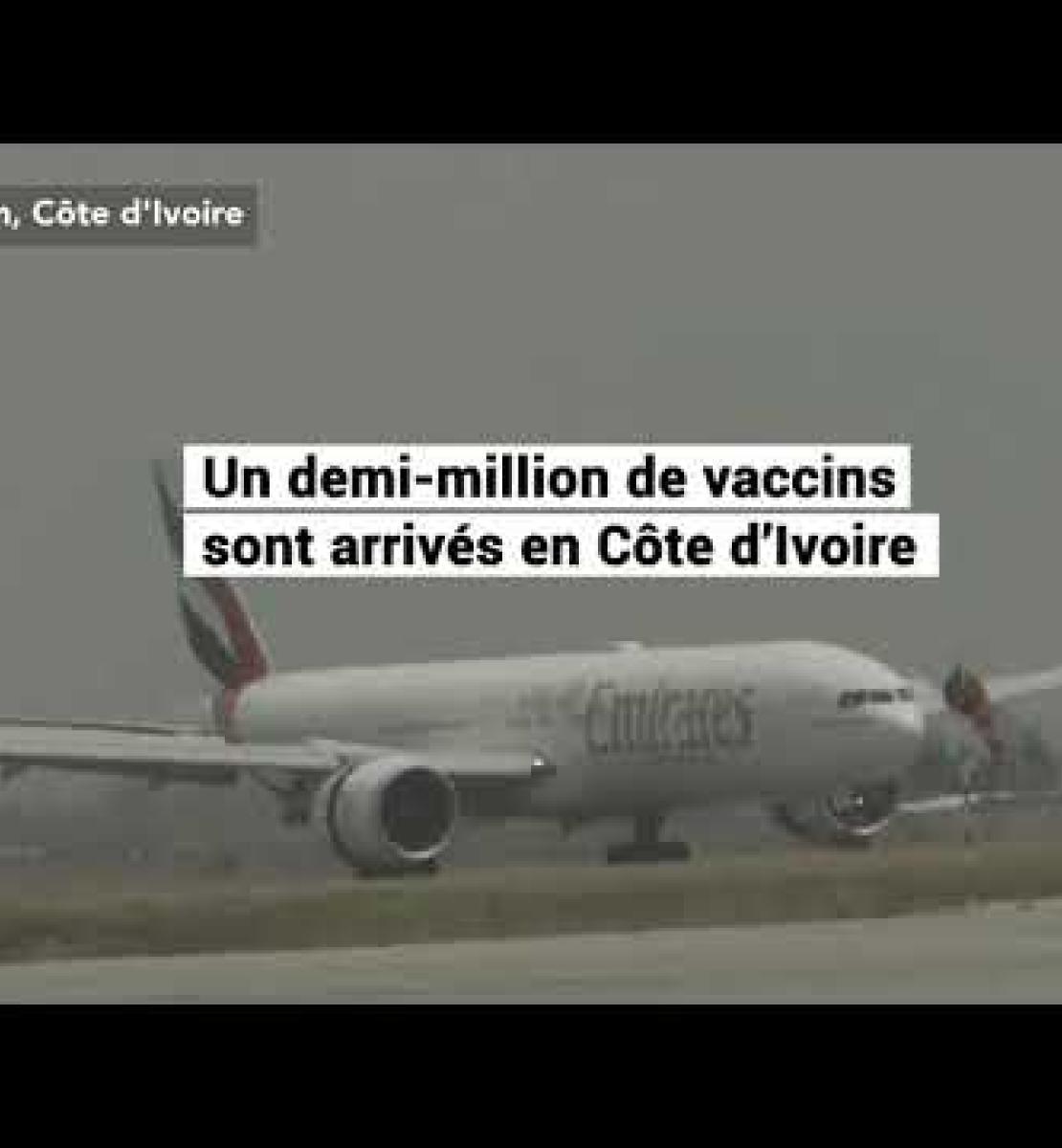 La Côte d'Ivoire est l'un des premiers pays africains à vacciner sa population grâce au mécanisme COVAX